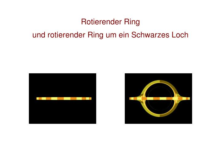 Rotierender Ring