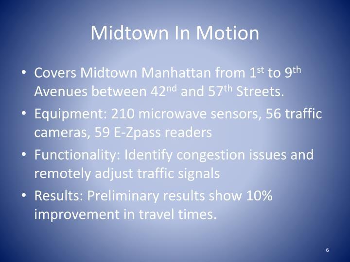 Midtown In Motion
