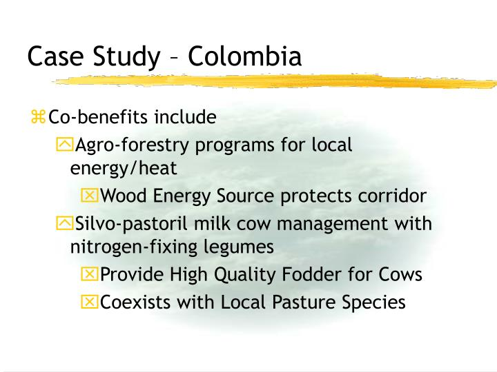 Case Study – Colombia