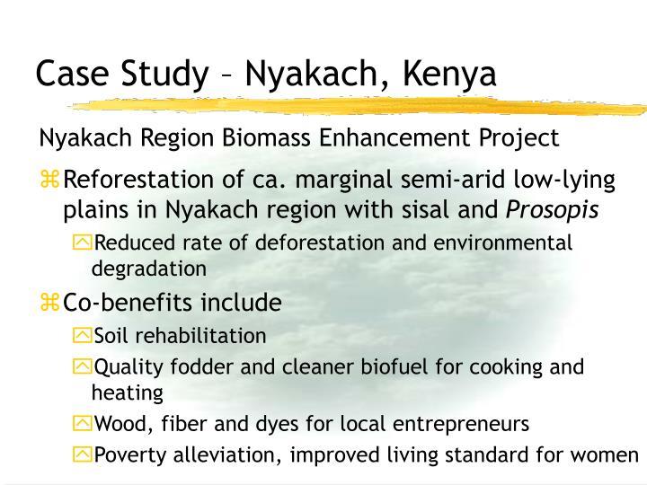 Case Study – Nyakach, Kenya