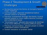 phase 2 development growth challenges