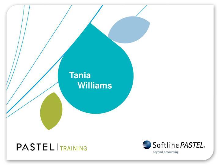 Tania Williams