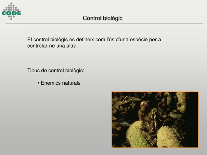 Control biològic