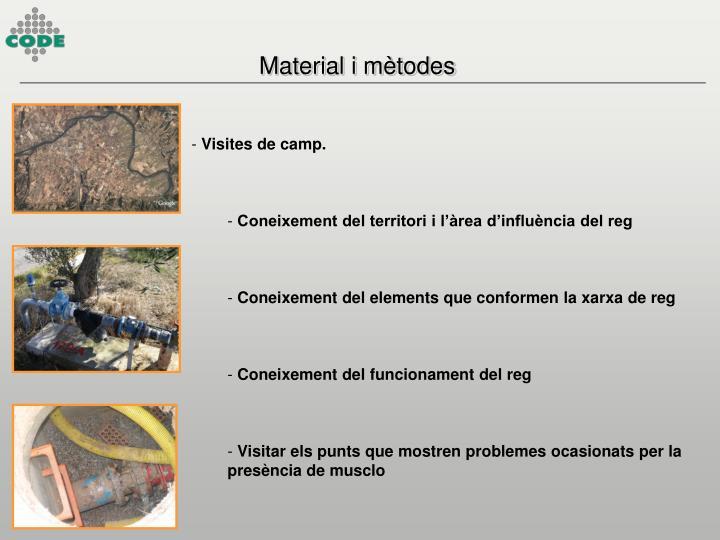 Material i mètodes