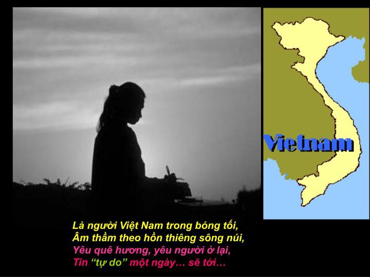 Là người Việt Nam trong bóng tối,