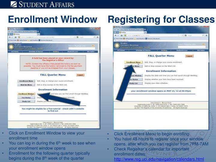 Registering for Classes
