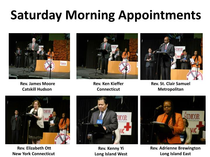 Saturday Morning Appointments