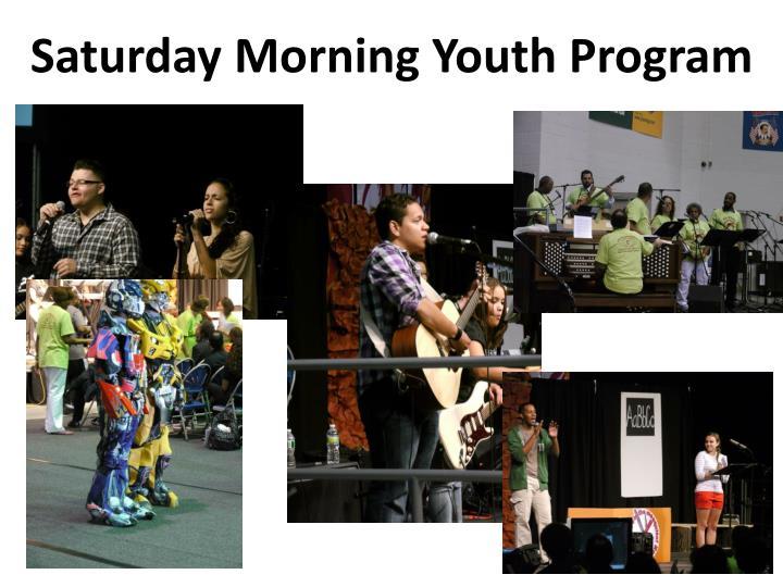 Saturday Morning Youth Program