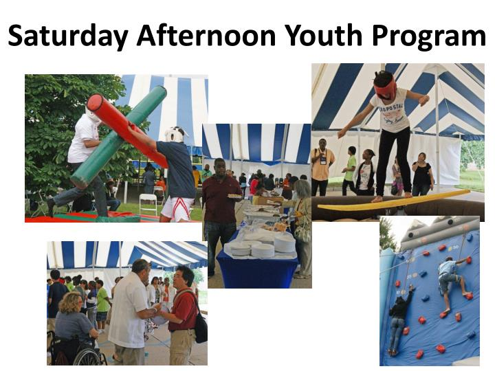 Saturday Afternoon Youth Program