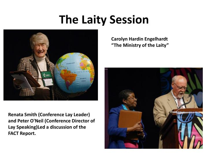The Laity Session