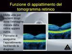 funzione di appiattimento del tomogramma retinico