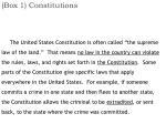 box 1 constitutions