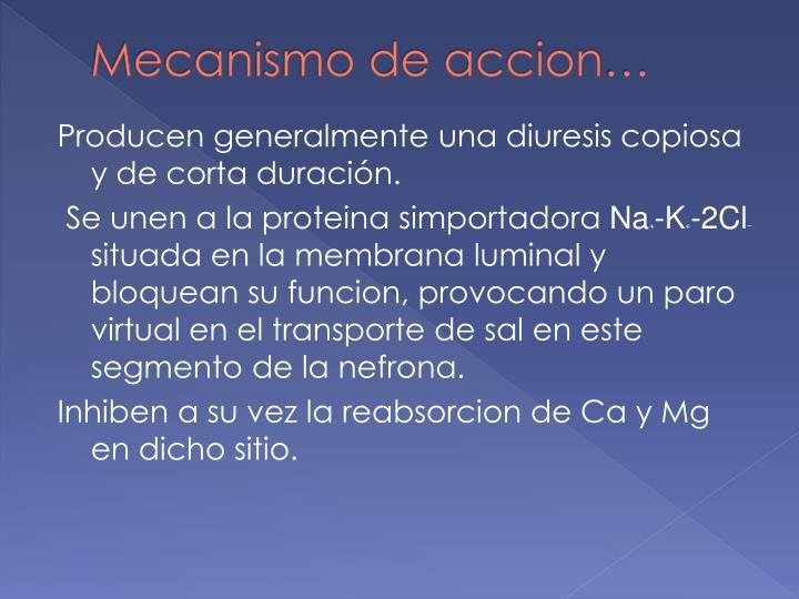 Mecanismo de