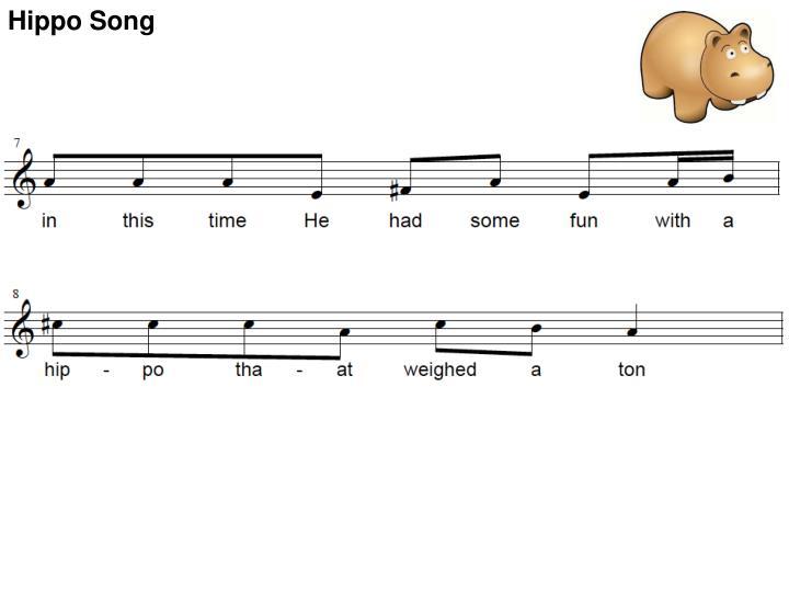 Hippo Song