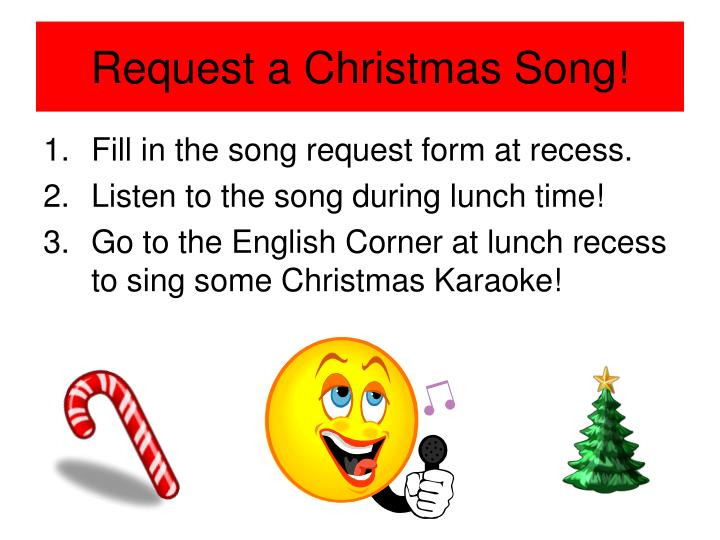 Request a Christmas Song!