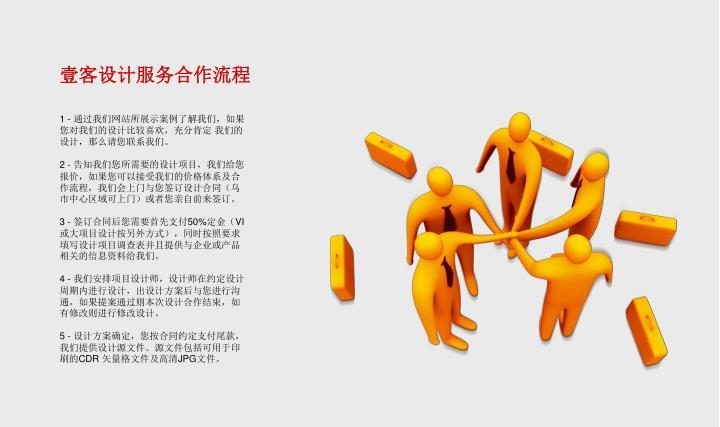壹客设计服务合作流程