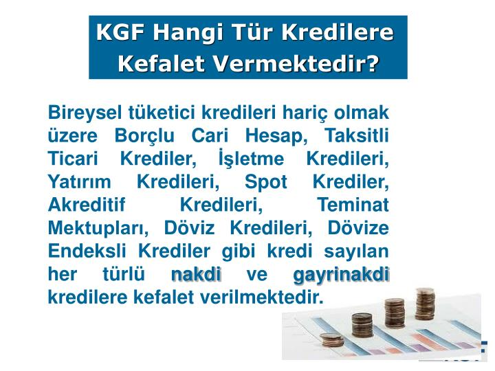 KGF Hangi Tür Kredilere