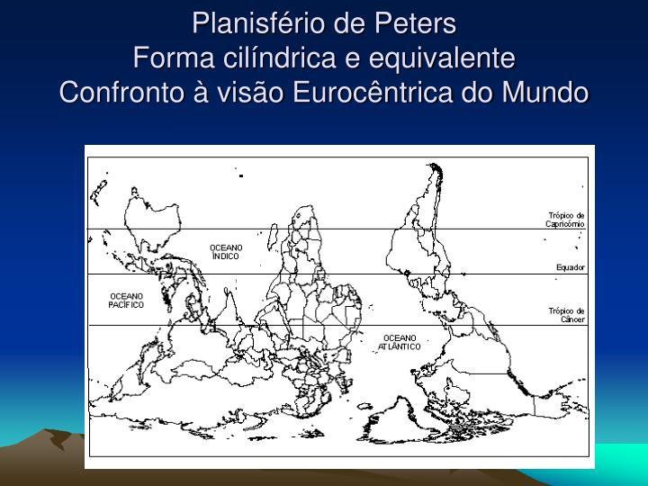 Planisfério de Peters