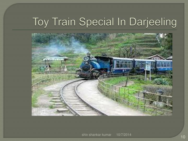 Toy Train Special In Darjeeling