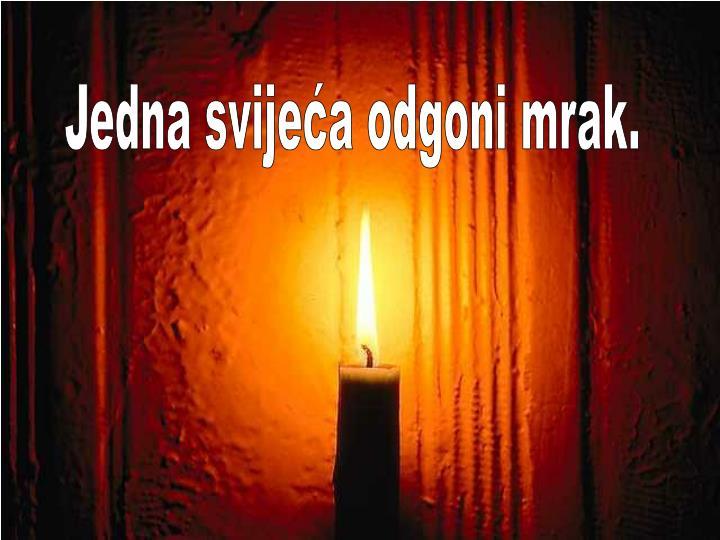 Jedna svijeća