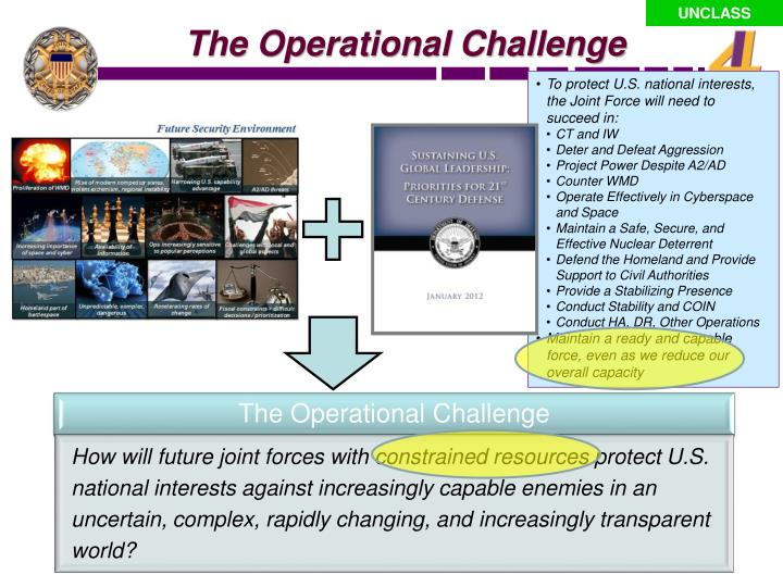 The Operational Challenge