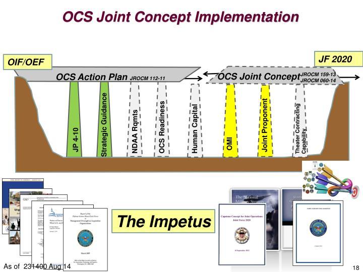 OCS Joint Concept Implementation