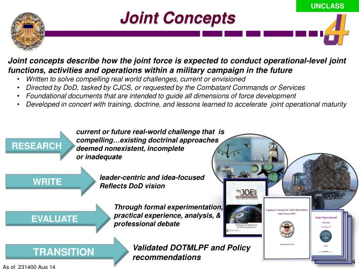 Joint Concepts