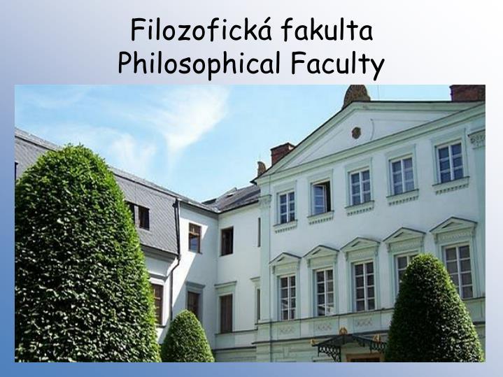 Filozofická fakulta