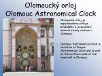 olomouck orloj olomouc astronomical clock