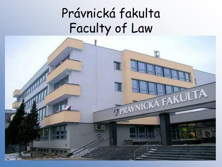 Právnická fakulta