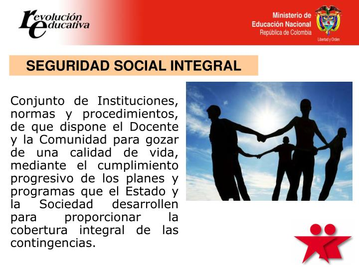 SEGURIDAD SOCIAL INTEGRAL