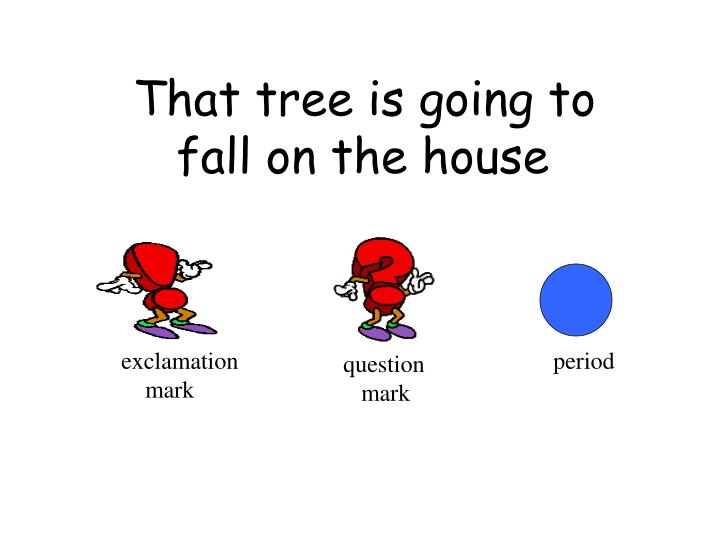 That tree is going to