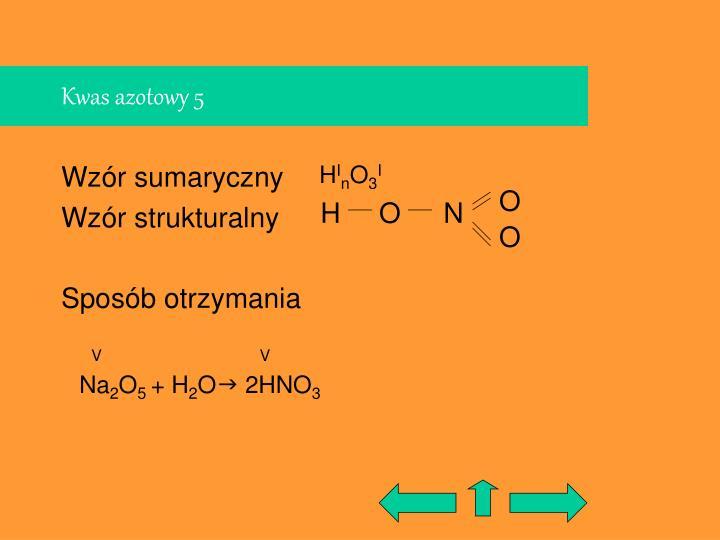 Kwas azotowy