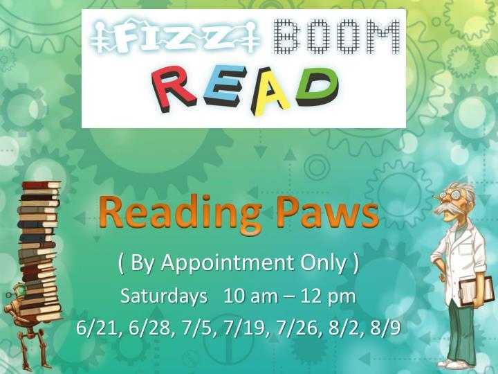 Reading Paws