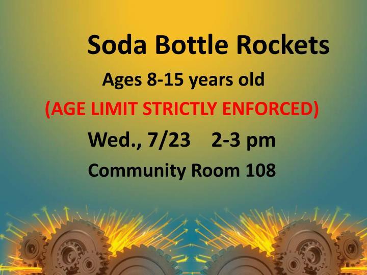 Soda Bottle Rockets