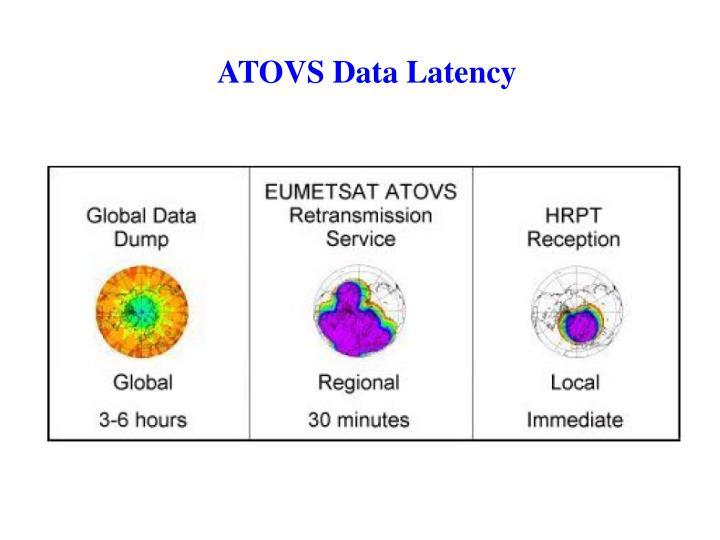 ATOVS Data Latency