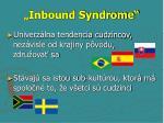 inbound syndrome