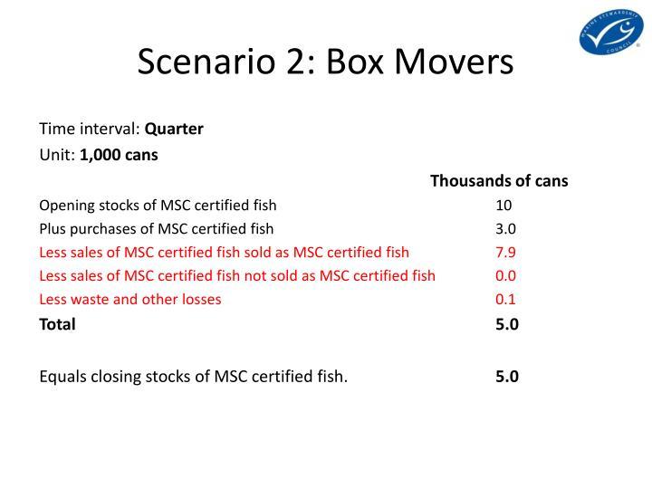 Scenario 2: Box Movers