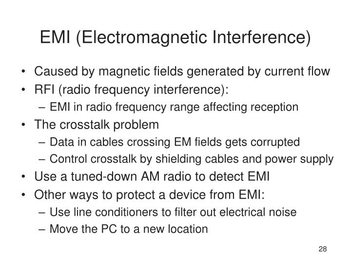 EMI (Electromagnetic Interference)