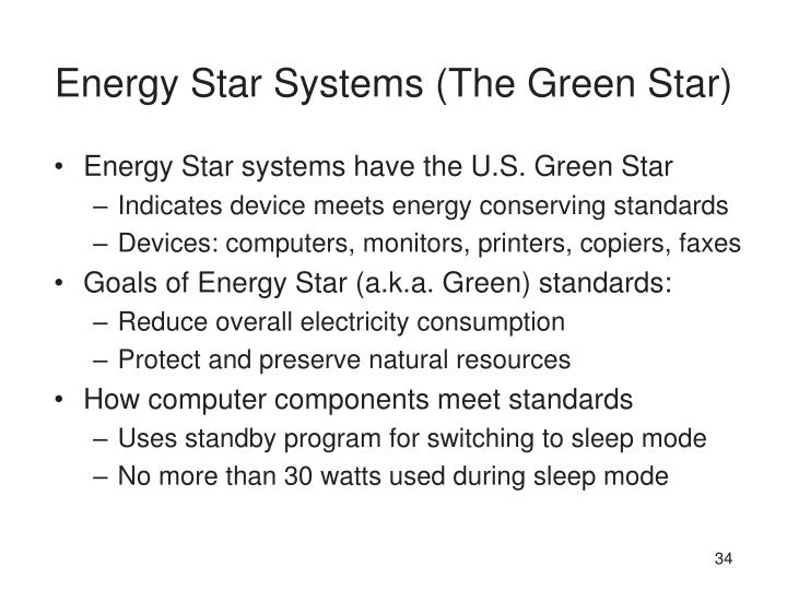 Energy Star Systems (The Green Star)
