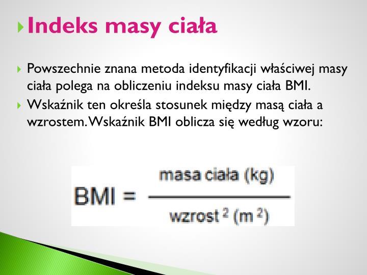 Indeks masy ciała