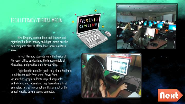 Tech literacy/Digital Media