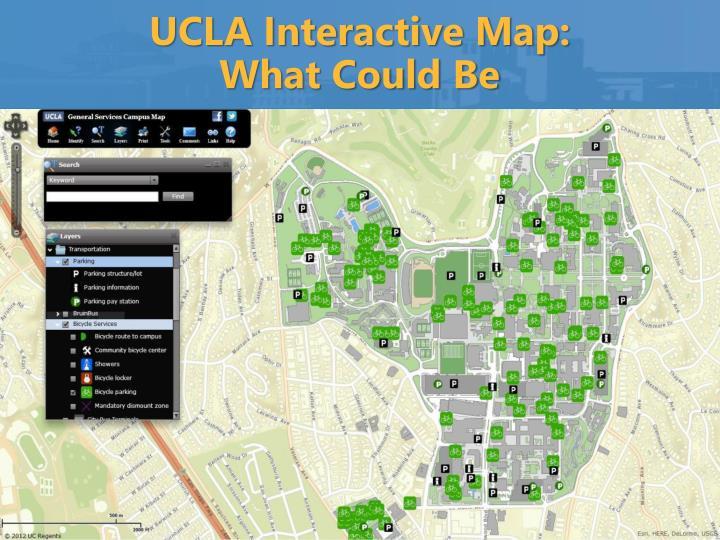 UCLA Interactive Map: