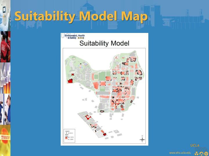 Suitability Model Map