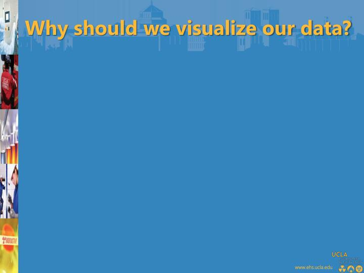 Why should we visualize our data?