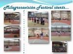 milagrosavisi n festival starts