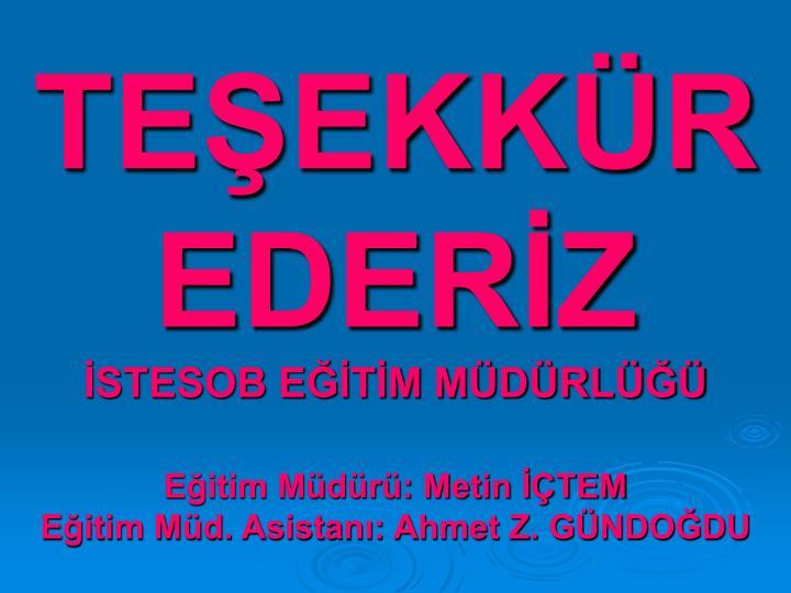 TEEKKR EDERZ