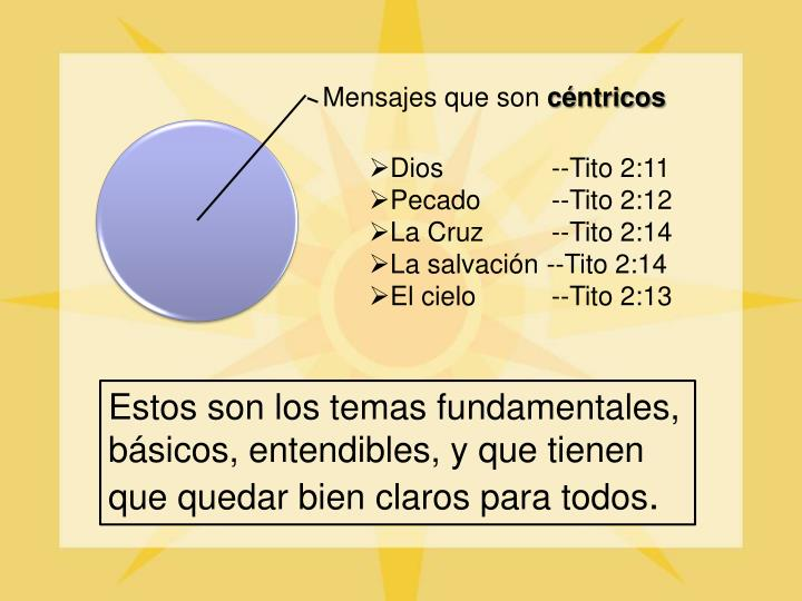 Dios   --Tito 2:11
