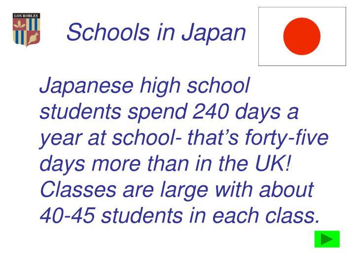 Schools in Japan