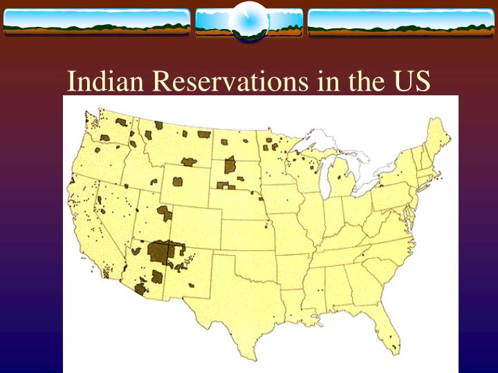 Indian reservations in the us